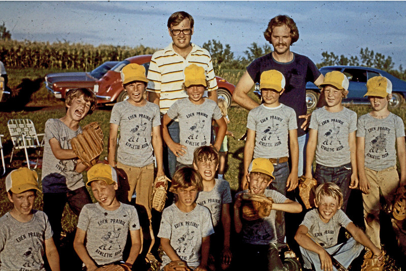 1977 - Jeff's Baseball Team
