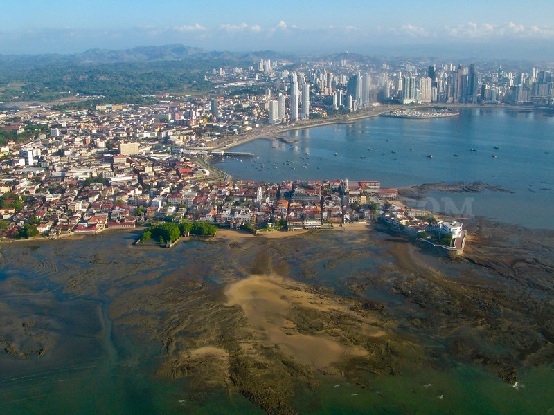 Casco Viejo Panama from the Sky