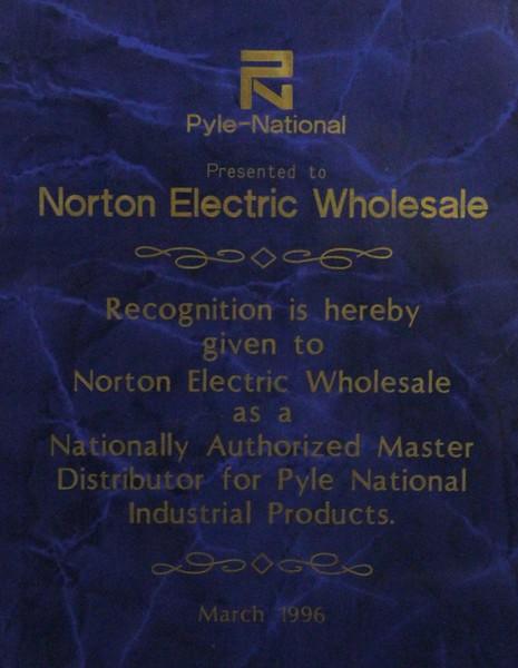 1996, Pyle National Award