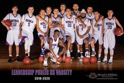 LPS Boys Varsity Basketball 2020