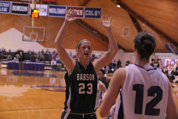 babson select women's basketball Mar 13. 2010