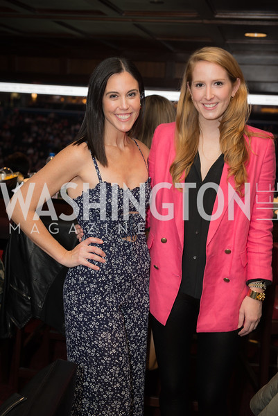 Candace Ourisman, Juliet Ourisman,  Washington International Horse Show, Young Nelson Society, Capital One Arena, October 26, 2018.  Photo by Ben Droz.