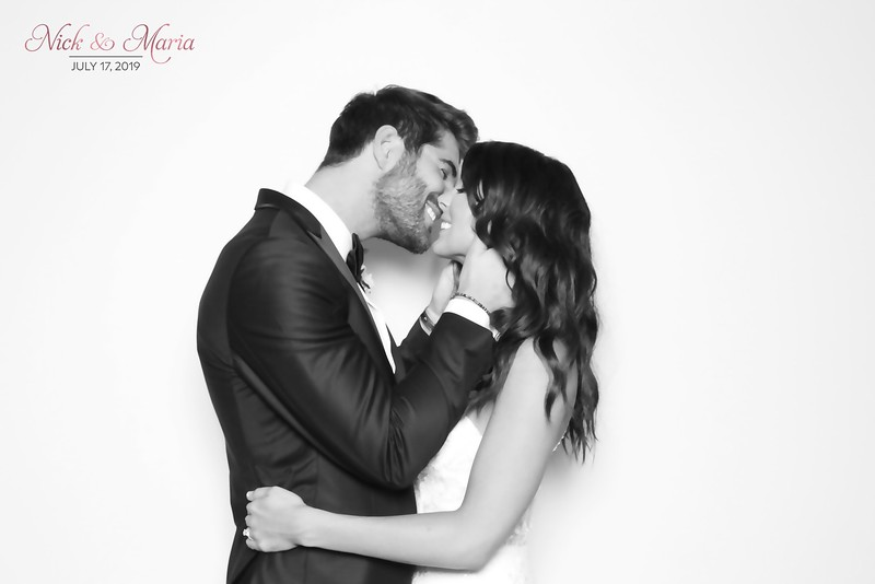 Maria and Nick (BW SkinGlow Booth)