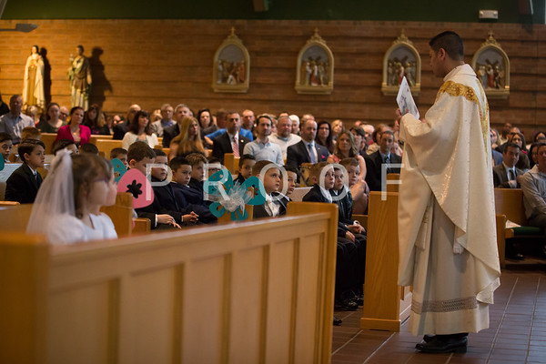 First Holy Communion May 13 9AM