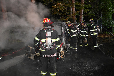 Brookhaven Handles Car Fire 18 Old South Country Rd {2021.05.31}