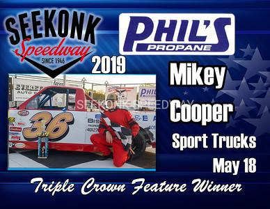 2019 Phils Propane Triple Crown Winners