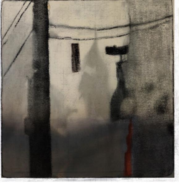 City dusk (digital)