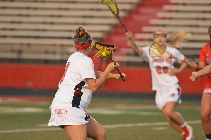 GWU Women's Lacrosse team fall to Radford Wednesday evening after a long fight.