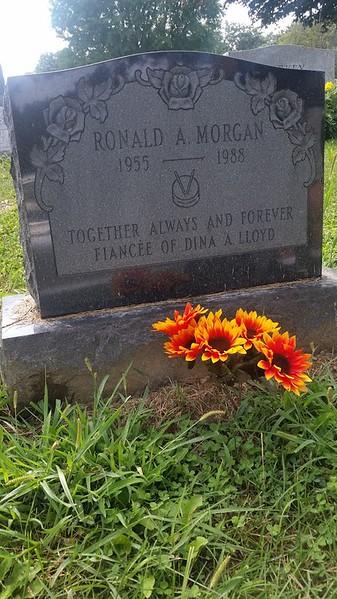 morgan gravestones