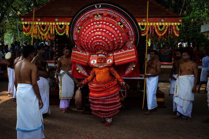 Puliyoor Kali Theyyam