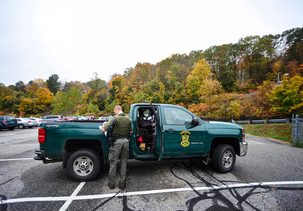 . Game Warden David Taddei, for Vermont Fish & Wildlife Department, Law Enforcement Division.