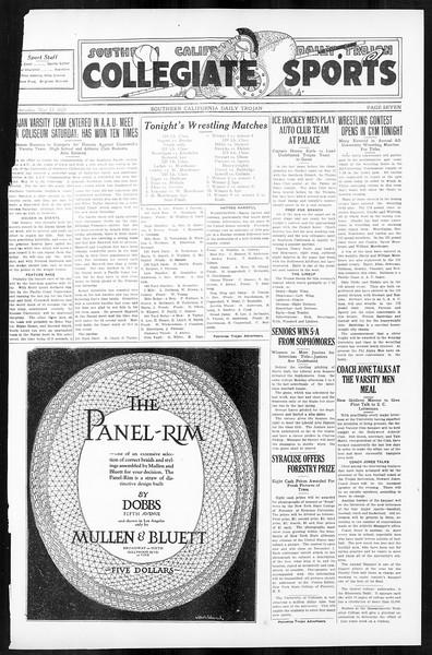 Daily Trojan, Vol. 16, No. 104, May 13, 1925