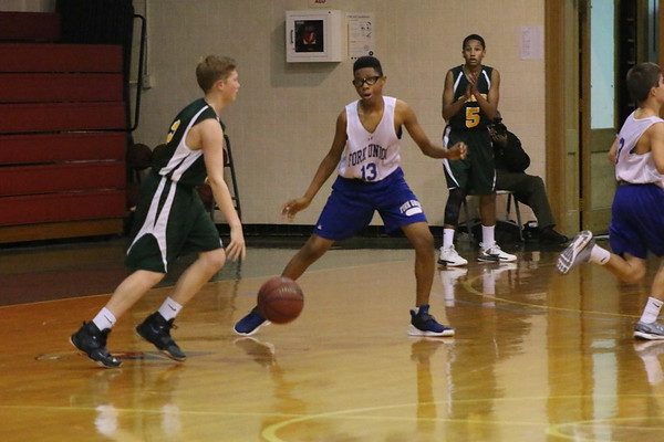 Middle School Basketball vs. Collegiate