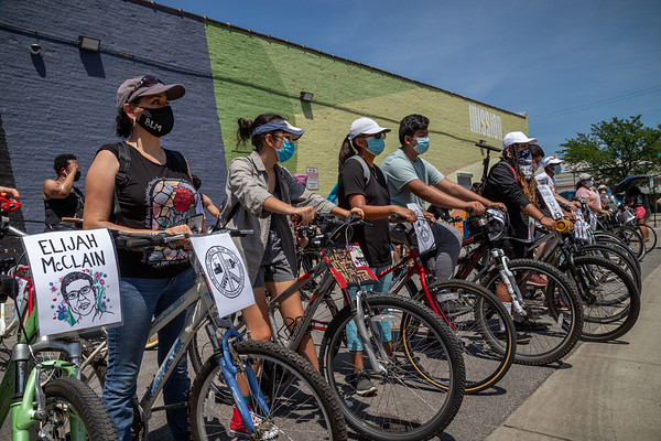 SE Side Bike Ride for Black Lives Matter - 7/5/20