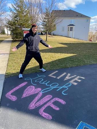 March 18-22: Coronavirus Stay at Home - Sidewalk Chalk