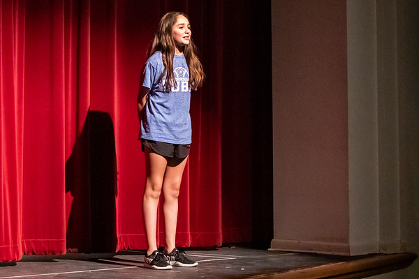 DS Middle School Theater's Production of Candid Cabin Camera - Dress Rehearsal, Wed, Feb 19, 2020