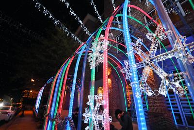 2020 Christmas Lights in Mercer Village