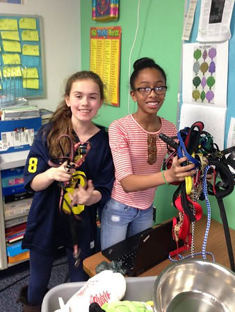 Sixth Graders Run Service Project for Furry Friends