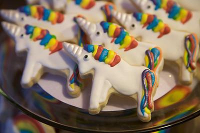 Mary's Rainbow and Unicorn Birthday