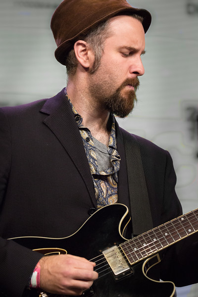 Guitarist with Fantastic Negrito at SXSW in Austin.