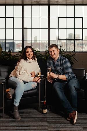Sydney and Alex Engagement