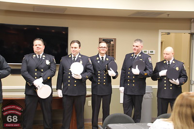 In-Service Woodcliff Lake Fire Department Swearing in 01-07-2017