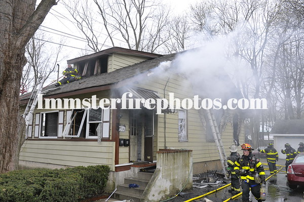 HUNTINGTON MANOR 6TH AVE HOUSE FIRE 4-16-11