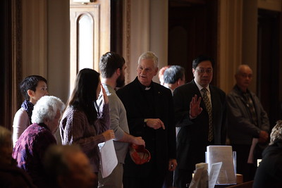 Archbishop Cordelione's visit to Saints Peter and Paul Parish