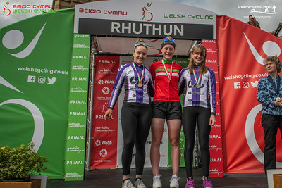 Welsh Cycling Road Race Championships - Presentation Pictures