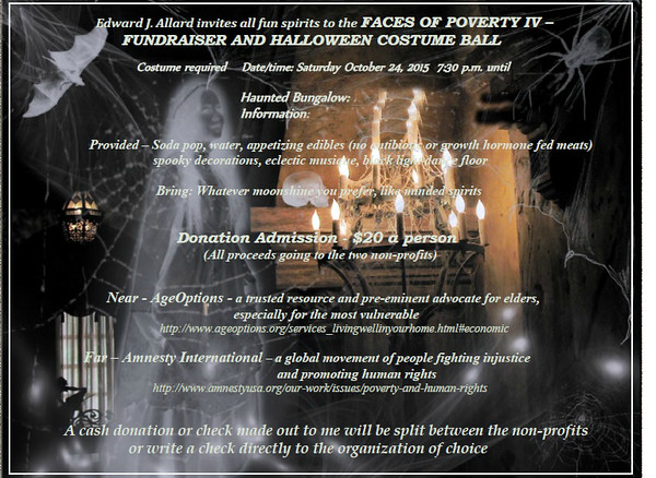 20151024 Faces of Poverty IV Halloween Soiree