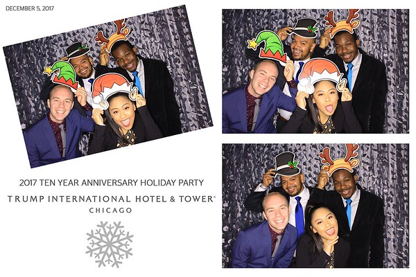 """Trump International Hotel & Tower Chicago """"2017 Ten Year Anniversary Holiday Party"""""""