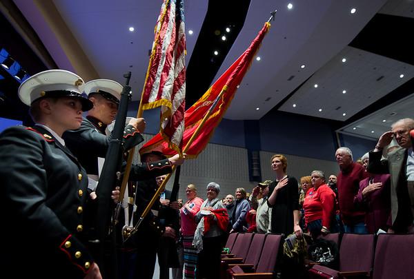 Thayer Symphony Program  for Veterans