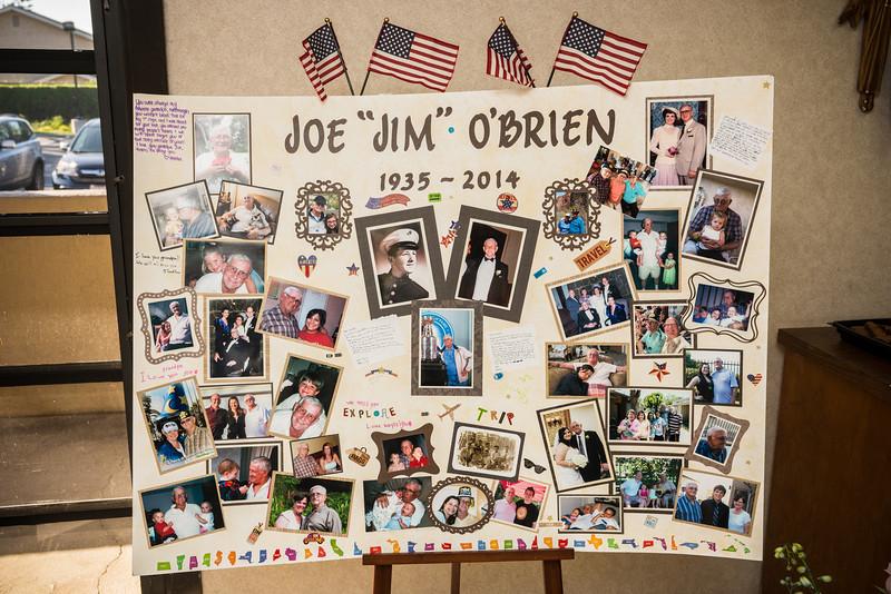 "Joe ""Jim"" O'Brien's life celebration"
