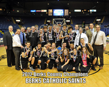 Berks County Boys Championship - Berks Catholic vs Schuylkill Valley 2011 - 2012