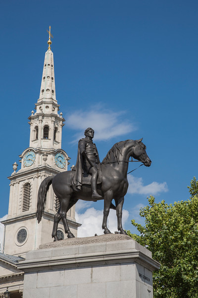 King George IV in Trafalager Square