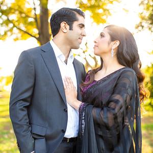 Jyoti & Ashim's Engagement Portraits