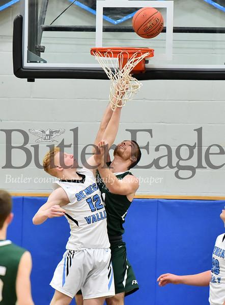 24107  Seneca Valley vs Pine Richland Section Boys basketball game at Seneca Valley High School