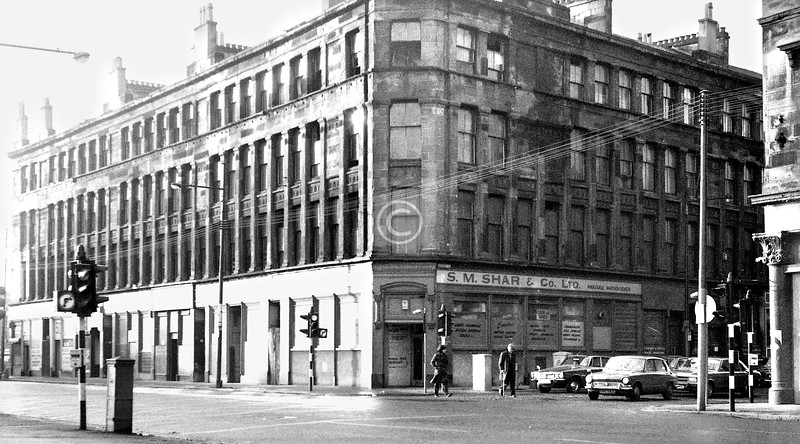 Gorbals St and Oxford St.    December 1973