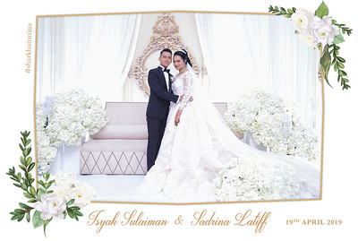 Wedding of Isyak & Sadrina