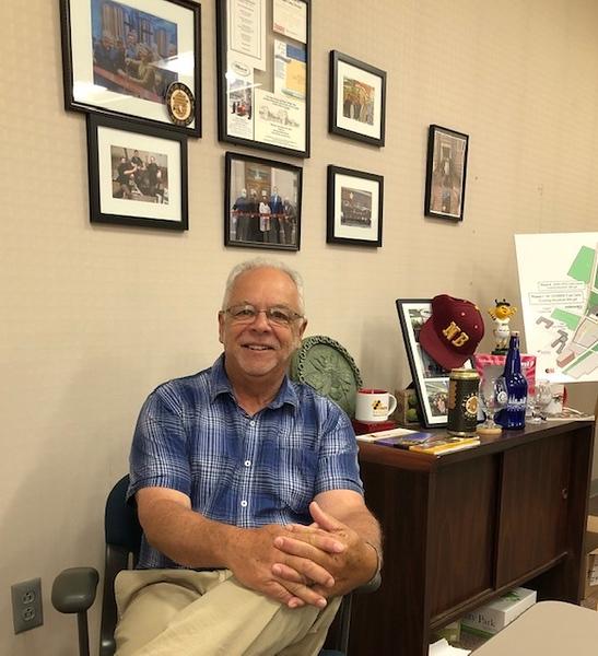 Bill Carroll in office.jpg