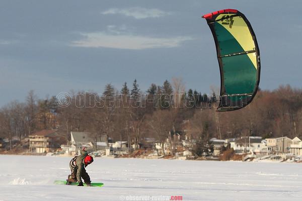 Ice Kiting 1-17-15