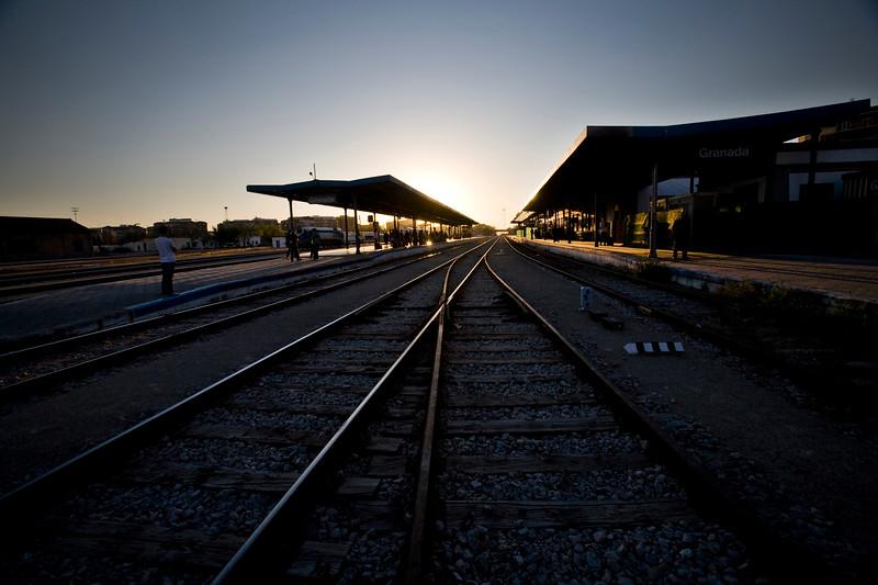 Railway station, Granada, Spain
