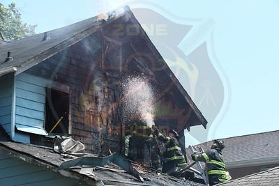 Hempstead F.D. Working Fire  Nassau Pkwy. 7/5/21