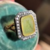 'Faithful & Firm' Yellow Chalcedony Ring, by Seal & Scribe 29