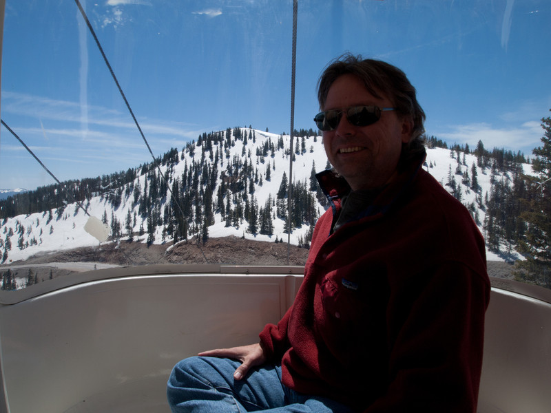 Since we were here, we took the gondola up to the top of the mountain