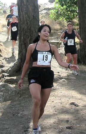 2003 Gutbuster Mount Doug - Dee Ogden ahead of the pack