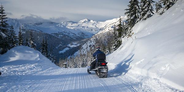 Snowmobile Wilderness Tour