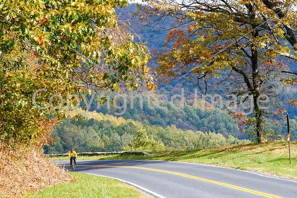 Skyline Drive, Virginia - Cyclists