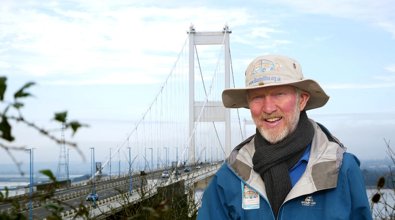 Brian completes walking Wales, back into England!