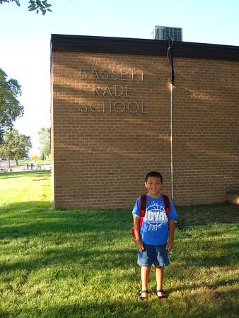 2010-08-18 AJ First Day - 2nd Grade